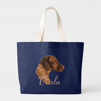 Vizsla Lovers Gifts Large Tote Bag