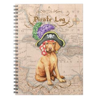 Vizsla Pirate Note Books