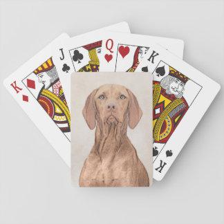 Vizsla Playing Cards
