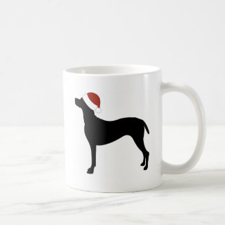 Vizsla Santa Hat Coffee Mug