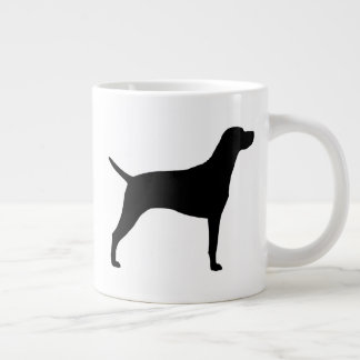 Vizsla Silhouettes Large Coffee Mug