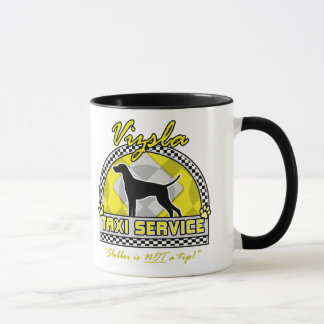 Vizsla Taxi Service Mug