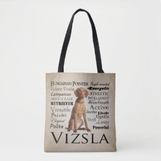 Vizsla Traits Tote