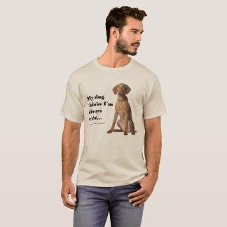 Vizsla v Wife T-Shirt