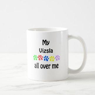 Vizsla Walks Design Coffee Mug