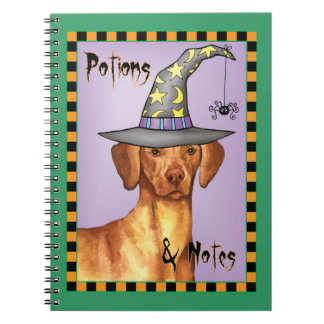 Vizsla Witch Note Books