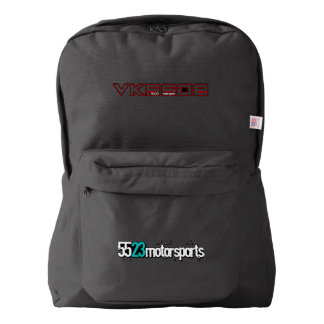 VK56DE Backpack by 5523 Motorsports Red