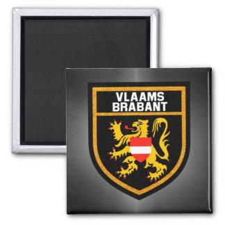 Vlaams-Brabant Flag Magnet