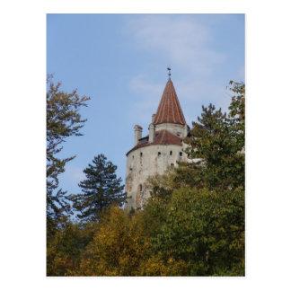 Vlad Dracul, AKA Dracula, castle at Bran 8 Postcard