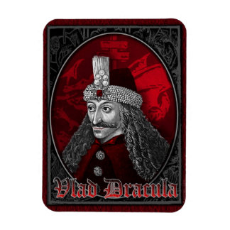 Vlad Dracula Gothic Rectangular Photo Magnet