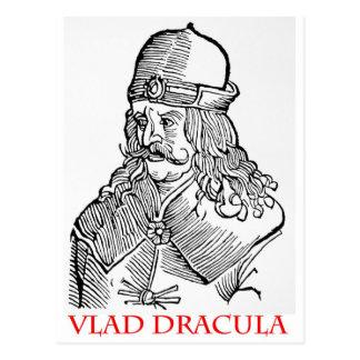 Vlad Dracula Postcard
