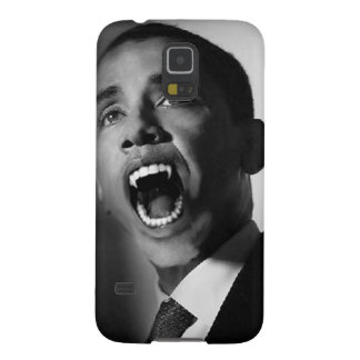 Vlad Obama - Mmmm You Look Tasty (Black) Galaxy S5 Covers