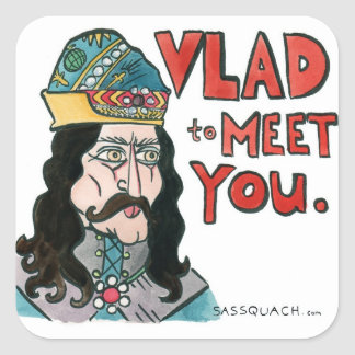 Vlad Square Sticker