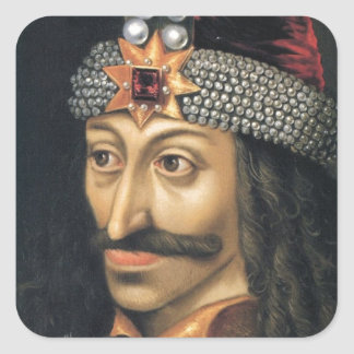 Vlad Tepes [Count Dracula] Square Sticker