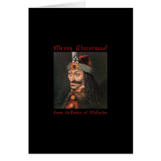 Vlad the Impaler Christmas Card