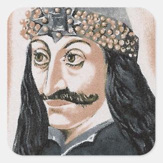 Vlad the Impaler Square Sticker