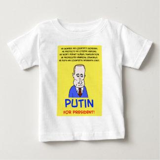Vladimir Putin for President Baby T-Shirt