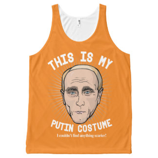Vladimir Putin Halloween Costume - I couldn't find All-Over-Print Tank Top