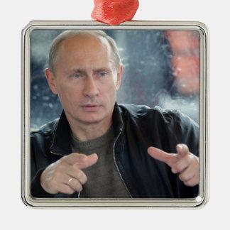 Vladimir Putin Metal Ornament