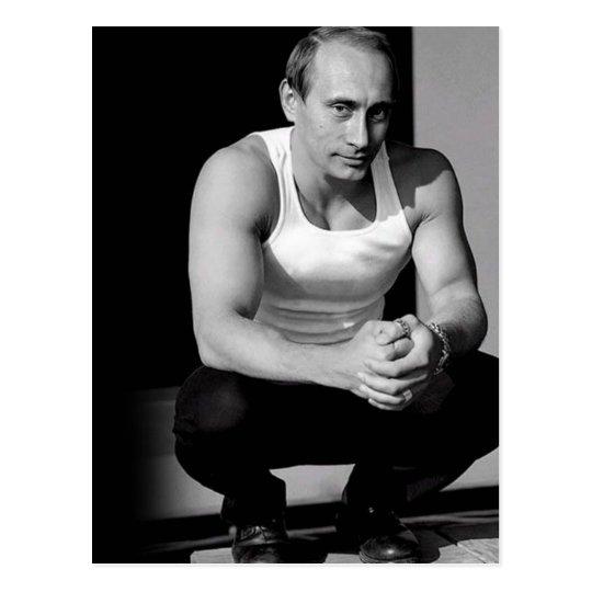 Vladimir Putin Postcard