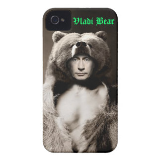Vladimir Putin Vladi Bear IPhone Case