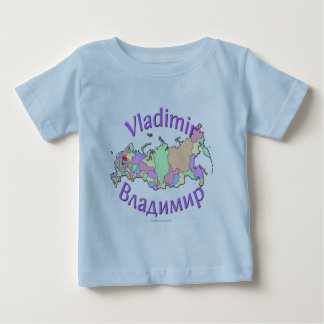 Vladimir Russia Baby T-Shirt