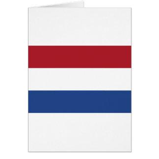 Vlag van Nederland - Flag of the Netherlands Card