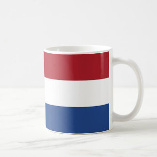 Vlag van Nederland - Flag of the Netherlands Coffee Mug