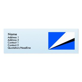 Vlcice, Czech Mini Business Card
