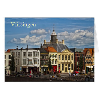 Vlissingen 01 greeting card