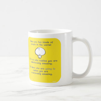 "VM8046, vimrod, ""you are amazing"", ""two kinds"" Coffee Mug"