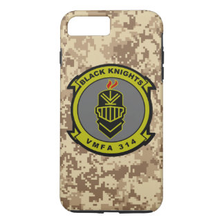 "VMFA-314 ""Black Knights"" Marine Camo iPhone 7 Plus Case"