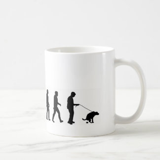 VMO08 evolution dog walking the dog Coffee Mug