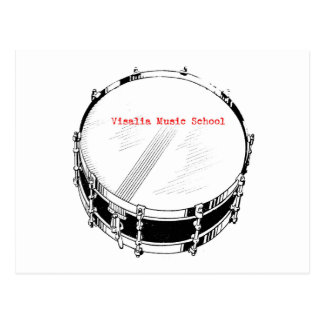 VMS Snare Drum Postcard