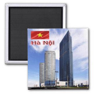 VN - Vietnam - Hanoi -  Landmark Tower Magnet