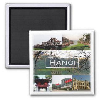 VN * Vietnam - Hanoi Square Magnet