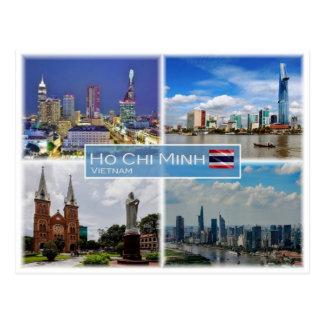 VN Vietnam -  Ho Chi Minh - Postcard