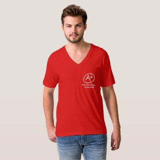 vneck A+ Help T-Shirt