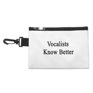 Vocalists Know Better Accessory Bag