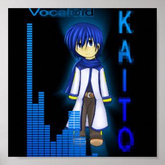 Vocaloid KAITO Poster