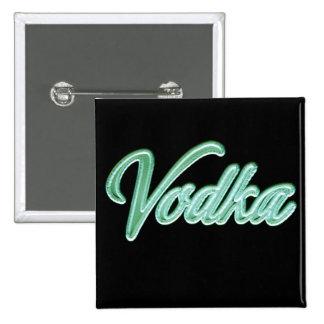 Vodka 2 Inch Square Button