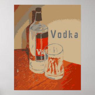 Vodka Advertisement Poster