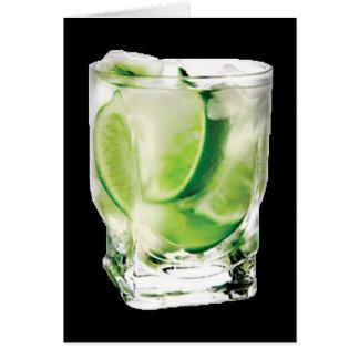 Vodka Lime Card