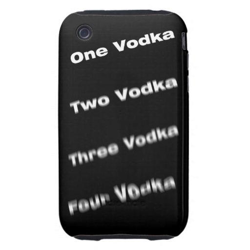 Vodka steps iPhone 3 tough case