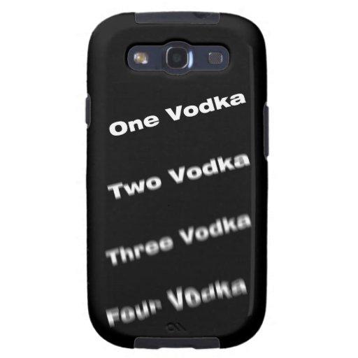 Vodka steps samsung galaxy SIII covers