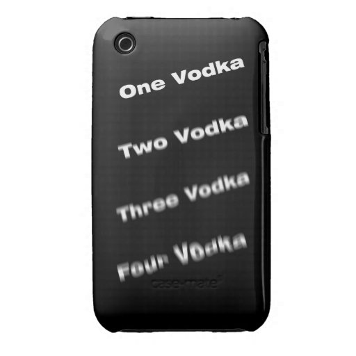 Vodka steps iPhone 3 cover