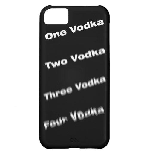 Vodka steps iPhone 5C cases