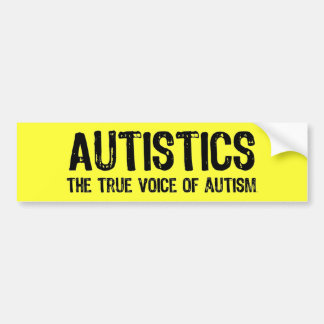 Voice of Autism Bumper Sticker