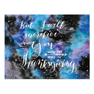 Voice of Thanksgiving 2 Postcard