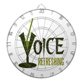 voice refreshing dartboard